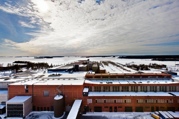 """Google's Data Center in Hamina, Finland. """"""""Hamina is one of three data centers Google maintains in Europe. Previously it was the home of the Stora Enso paper mill."""" Photo ©Google/Connie Zhou"""