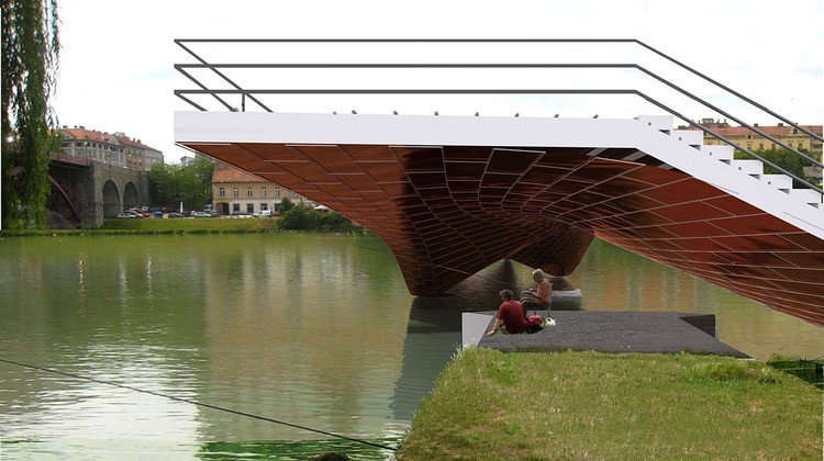 Footbridge In Maribor Ja Studio Tadj Farzin Studio