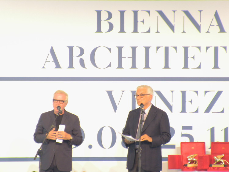 David Chipperfield and Paolo Baratta