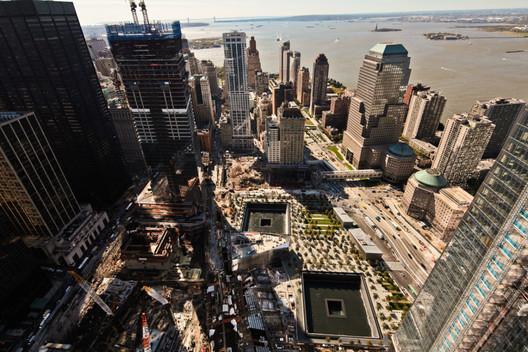 National 9/11 Memorial Aerial © Joe Woolhead