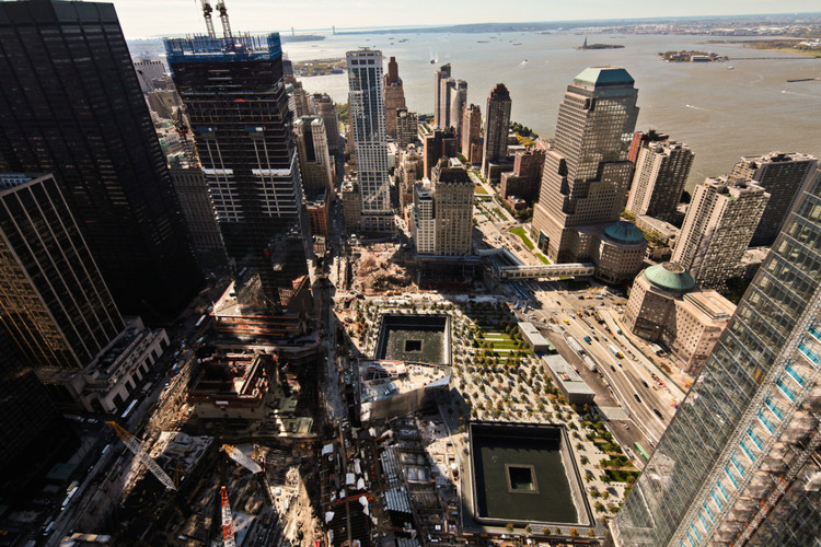 National 9/11 Memorial Aerial © Joe Woolhead