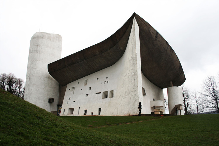 Ronchamp, one of Le Corbusier's most unusual works. © Cara Hyde-Basso