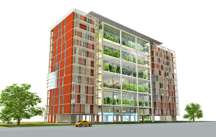 Courtesy of Knafo Klimor Architects