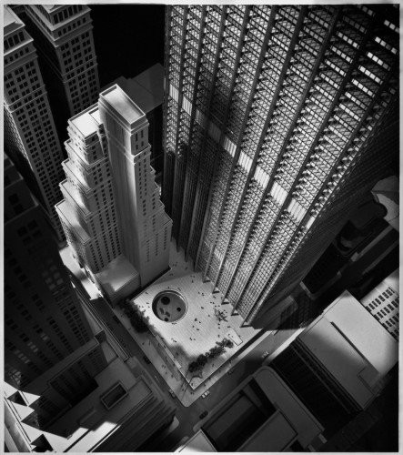 Chase Manhattan Plaza. 1961. By Skidmore, Owings, and Merrill. Ezra Stoller © Esto