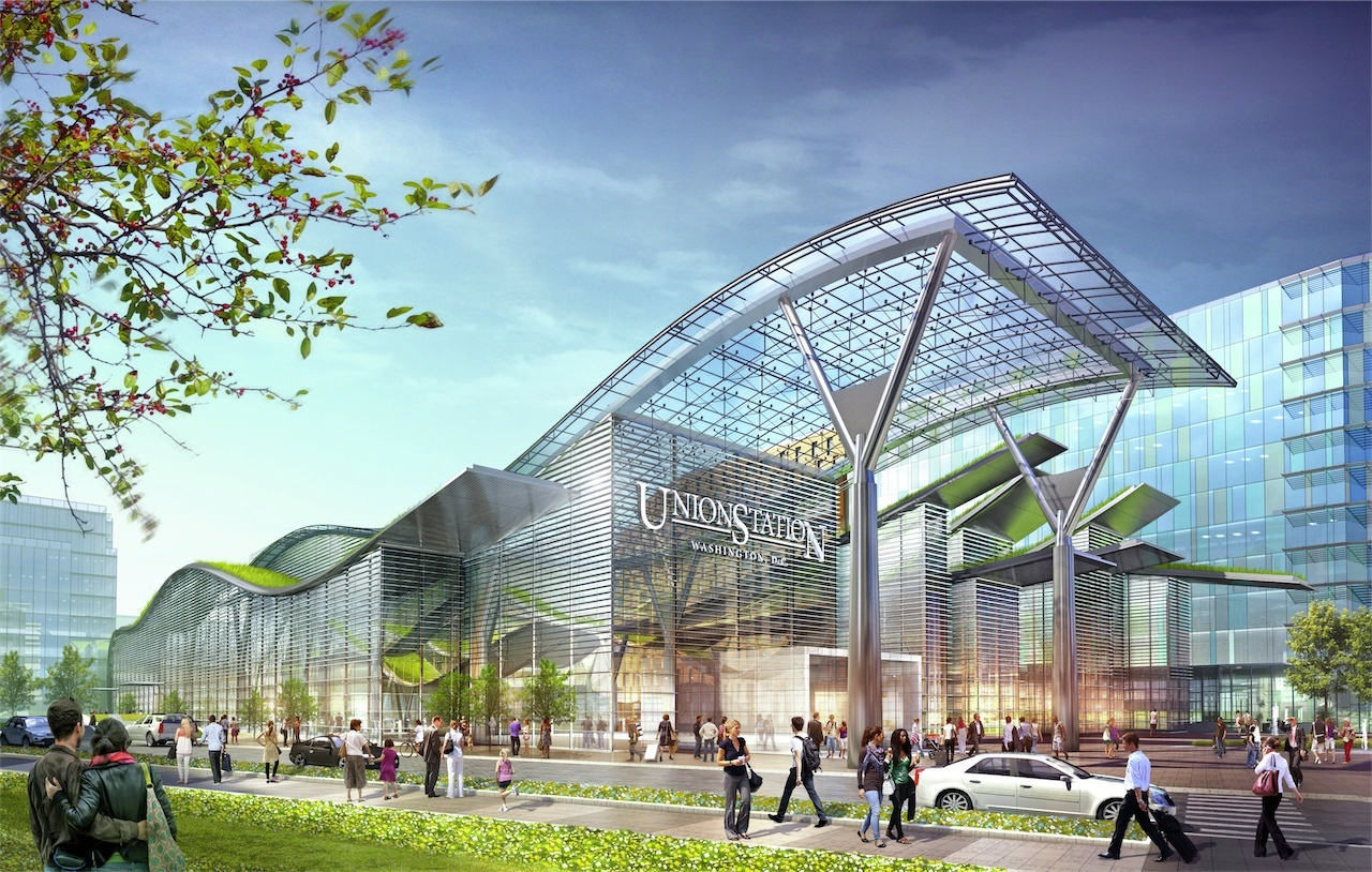 ^ Gallery of mtrak and HOK unveils design for new Washington Union ...
