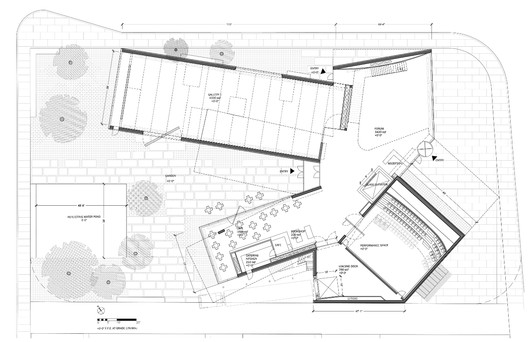 Ground Floor - Courtesy of Steven Holl Architects