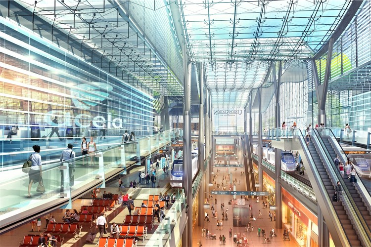 Central Concourse - Courtesy of HOK