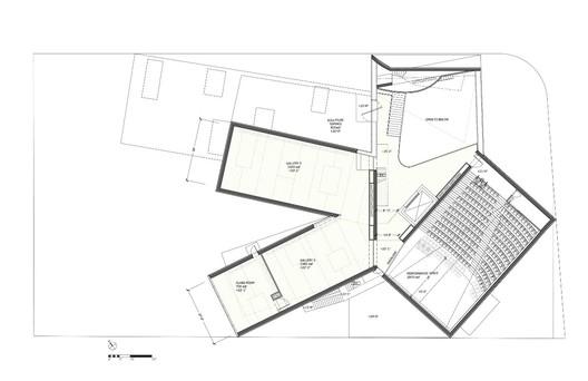 Floor 2 - Courtesy of Steven Holl Architects