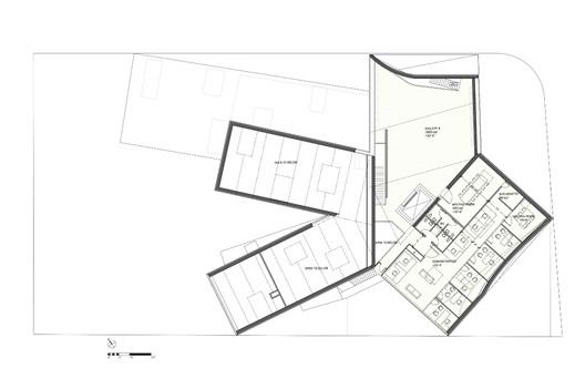 Floor 3 - Courtesy of Steven Holl Architects