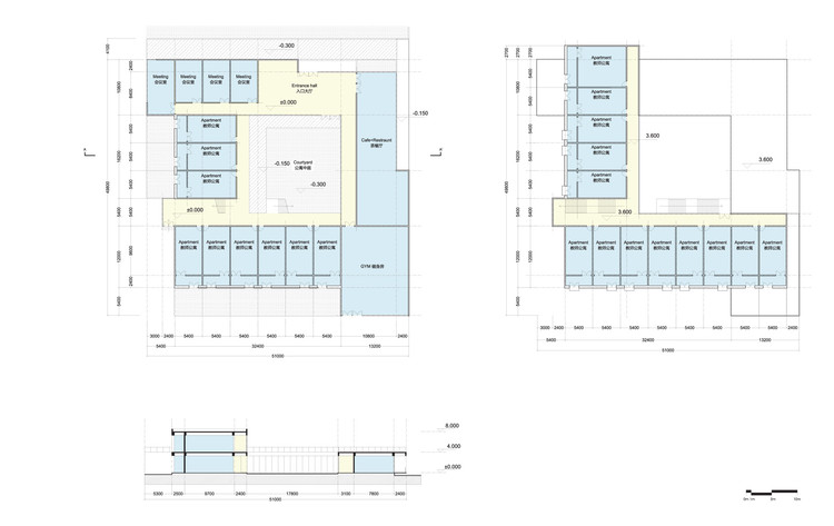 teachers' dorm plan