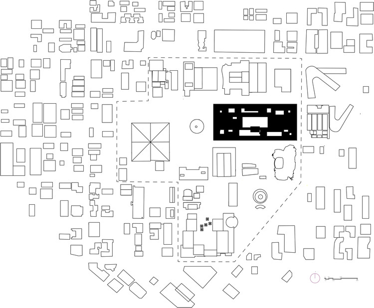 figure ground site plan