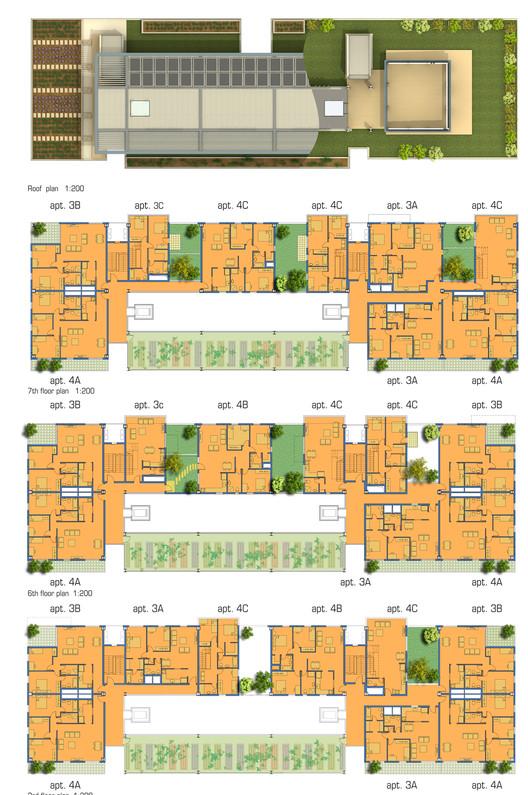 Plan; Courtesy of Knafo Klimor Architects