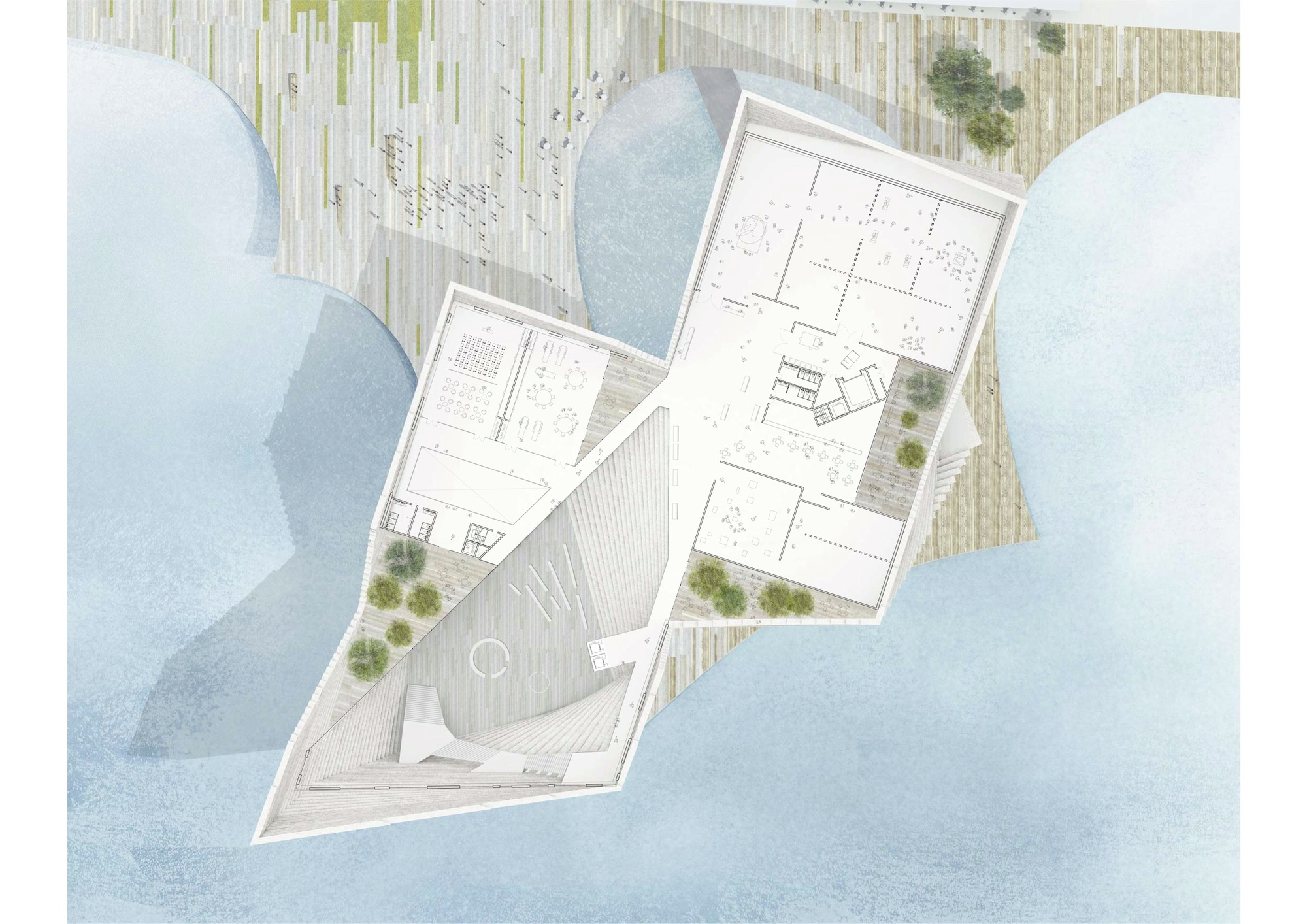 Gallery Floor Plans Gallery Of V Amp A At Dundee Kengo Kuma Amp Associates 2