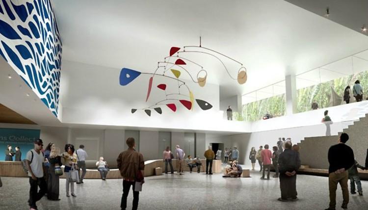 SFMOMA Expansion Art Court © Snøhetta