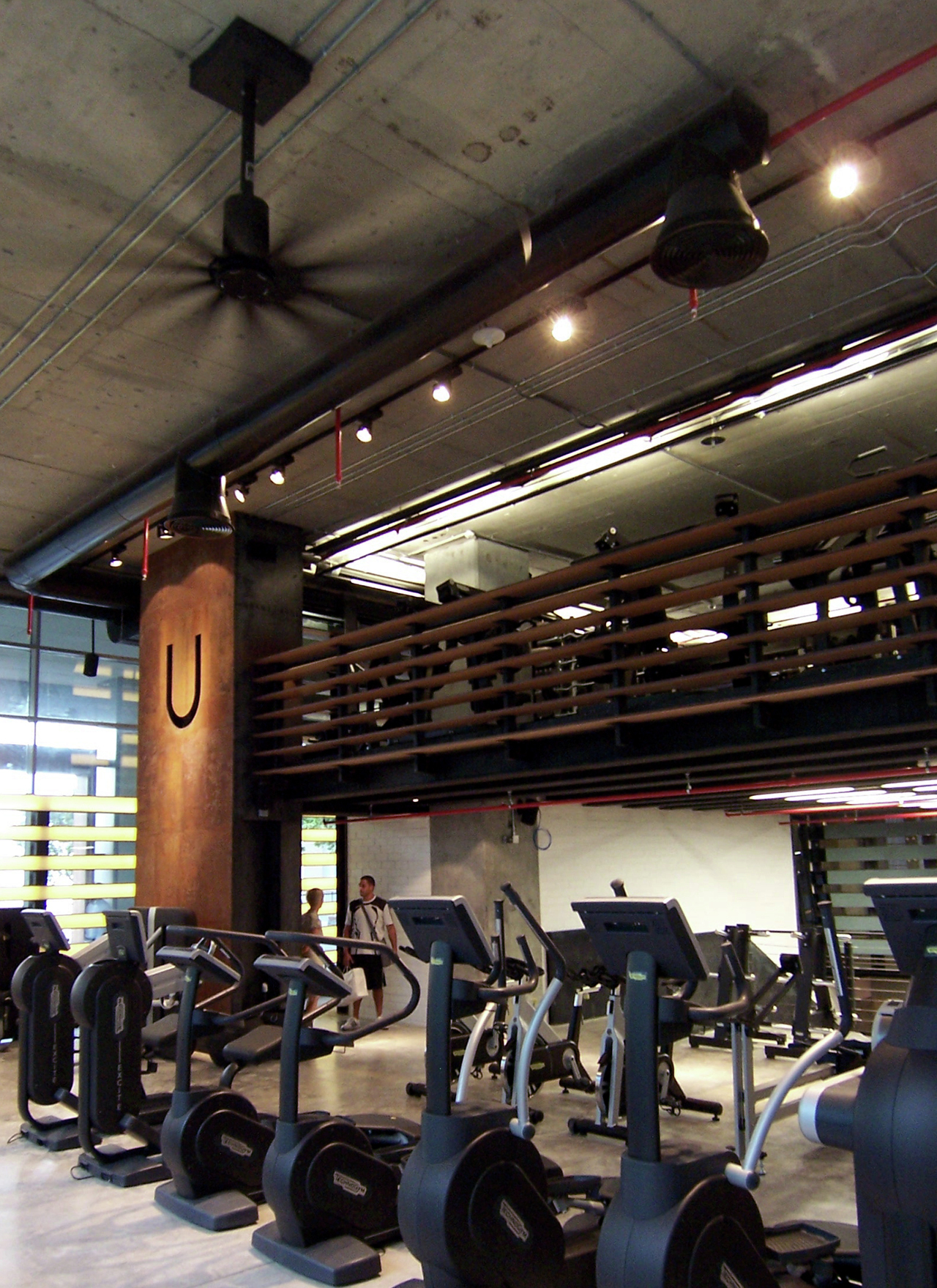 Gallery of uenergy health club gaj architects 37