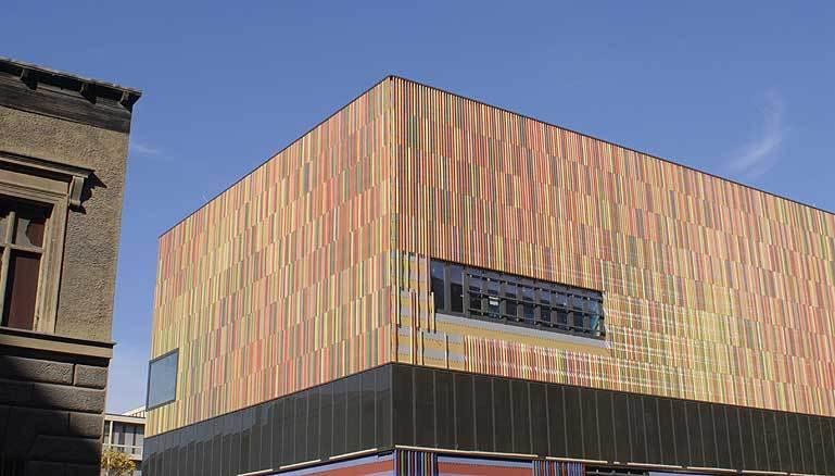 Gallery Of Nbk Terracotta Fa 231 Ade Panels Hunter Douglas