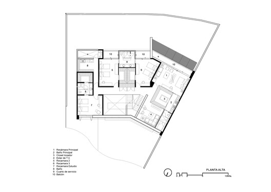 Top Floor Plan 01
