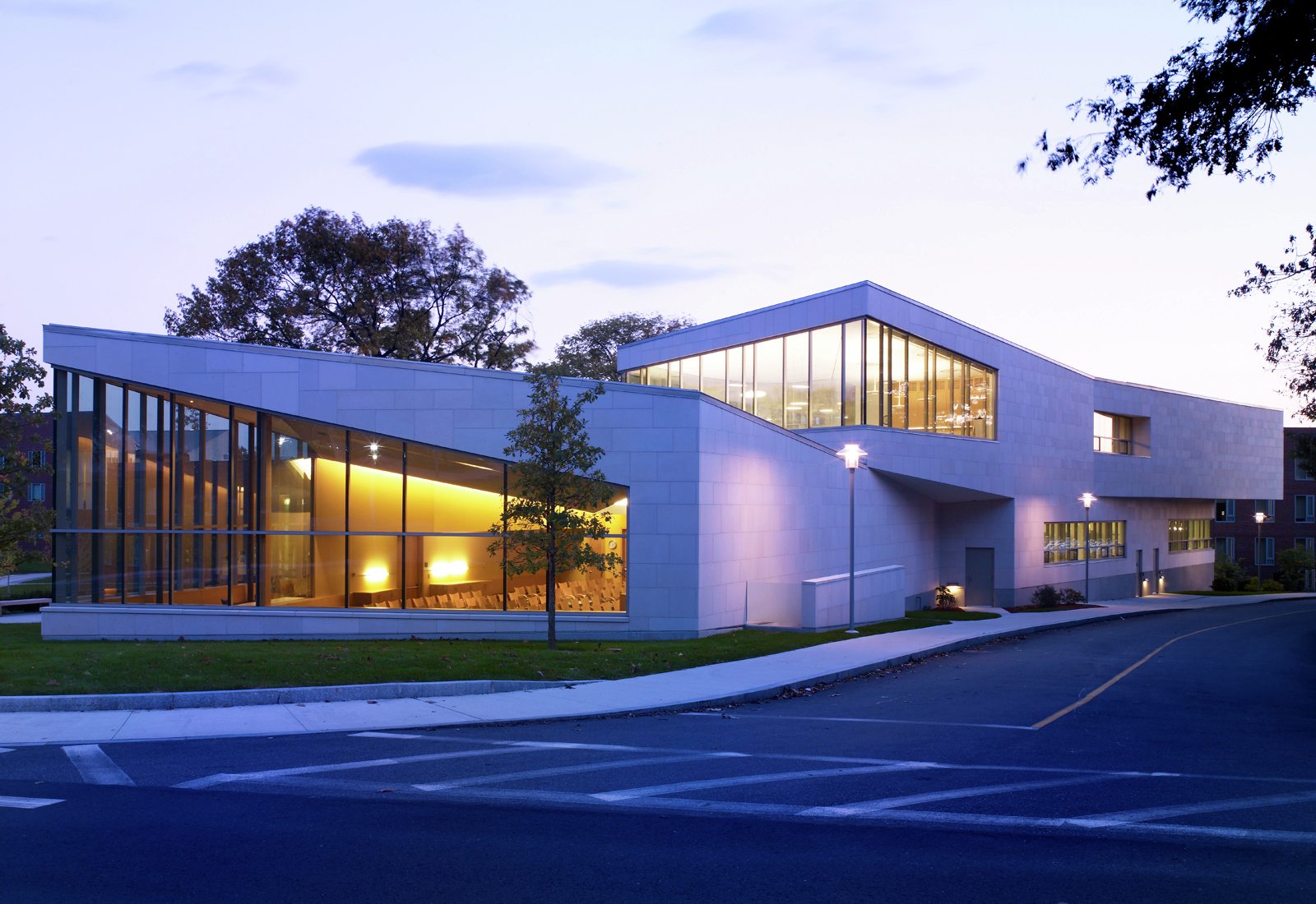 Gallery of admissions center brandeis university for Architects corporation