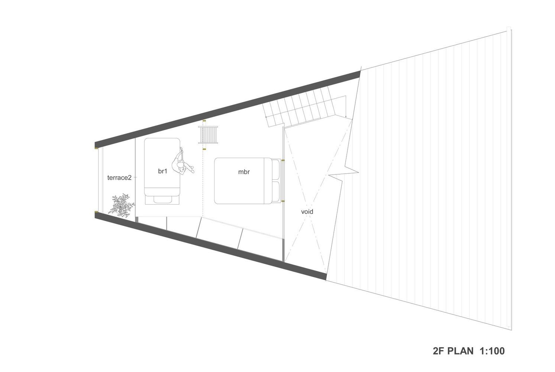 Gallery of unou house katsutoshi sasaki associates 11 House plans for triangular lots