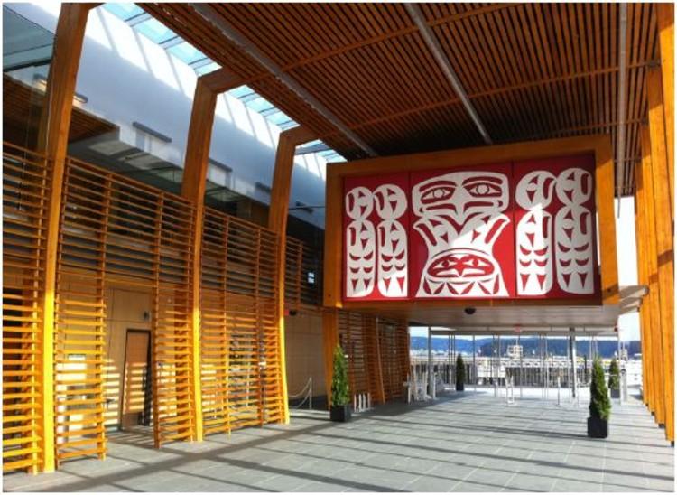 Nanaimo Cruise Ship Terminal by Checkwitch Poiron Architects