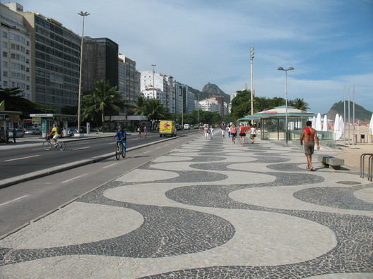 Copacabana Beach Boardwalk © Robert Blackie