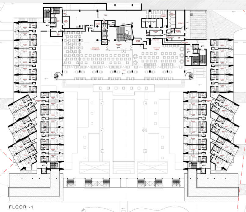 Gallery Of Yellow Hotel Plan Associated Architects 1