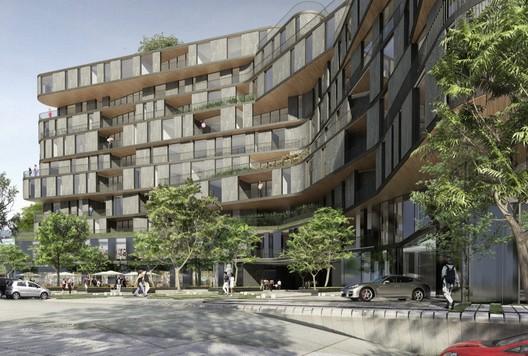 Exterior View / © rojkind arquitectos