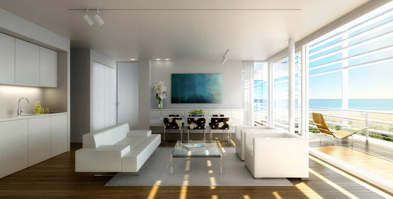 In progress jesolo lido condominium the beach houses richard meier partners architects