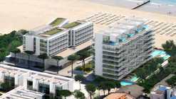 In Progress: Jesolo Lido Condominium – The Beach Houses / Richard Meier & Partners Architects