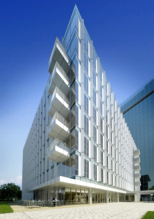 Courtesy of Richard Meier & Partners Architects, © vize.com