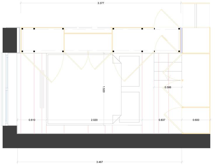 bedroom detail plan