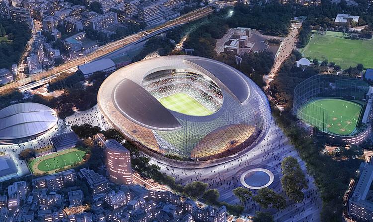 Cox Architecture pty LTD / Cortesía del Consejo de Deportes de Japón