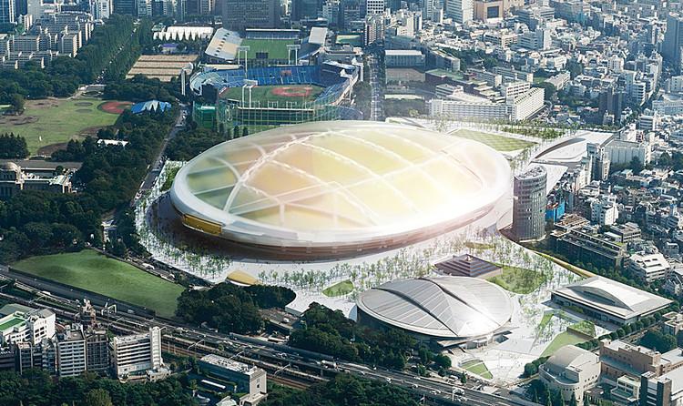 UNStudio / Yamashita Sekkei Inc.: / Cortesía del Consejo de Deportes de Japón