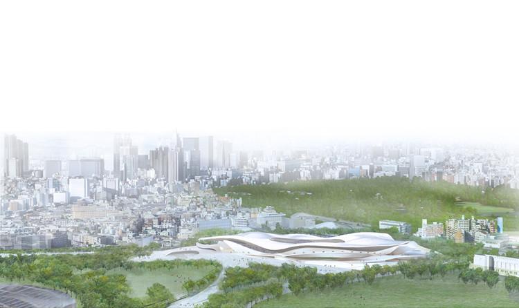 SANAA + Nikken Sekkei Ltd. / Cortesía del Consejo de Deportes de Japón