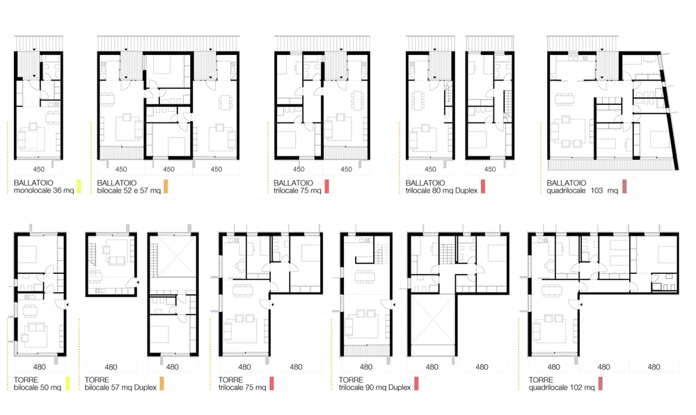 Gallery of Social Housing in Milan / StudioWOK - 4