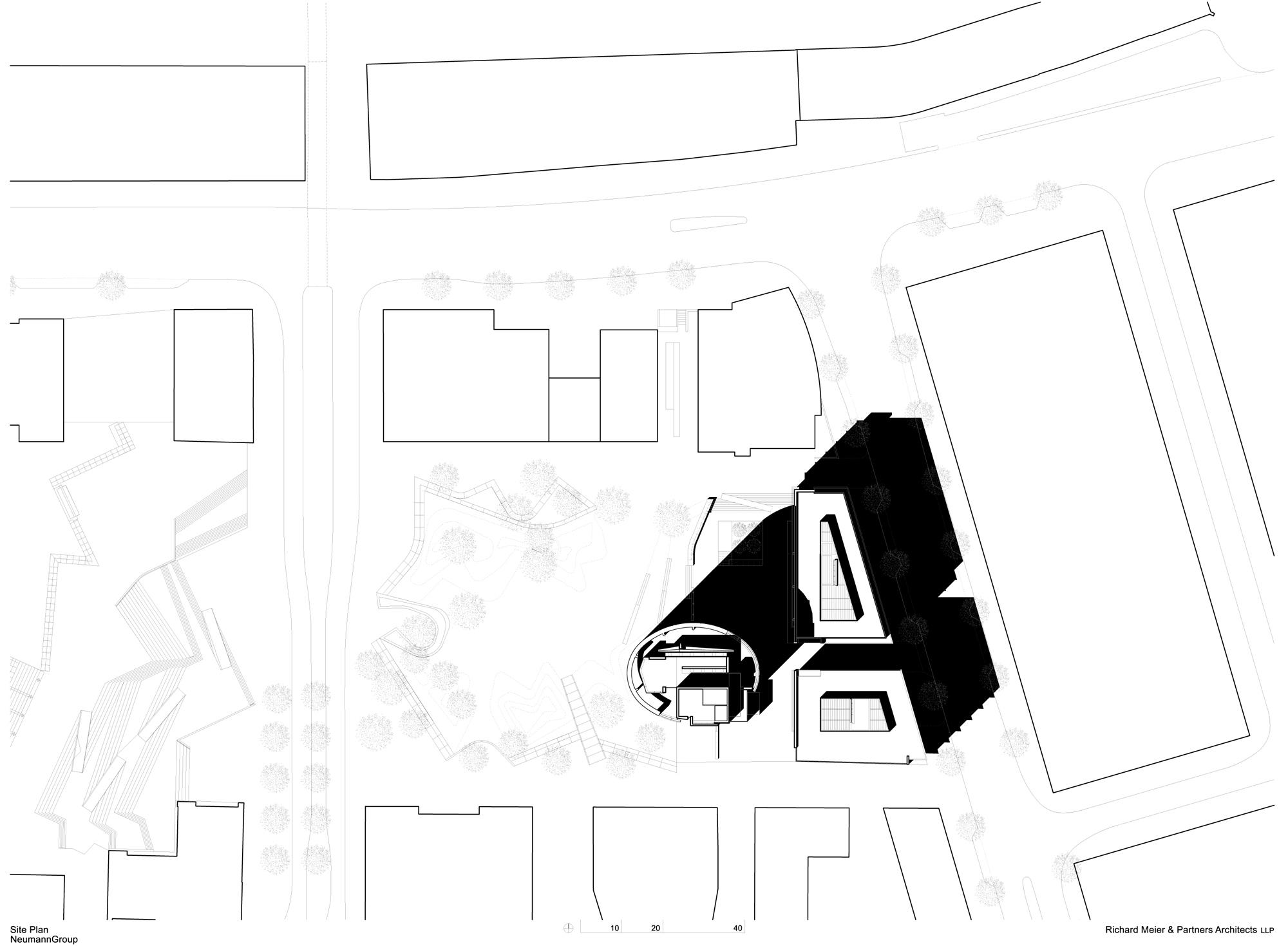 International Coffee Plaza / Richard Meier & Partners