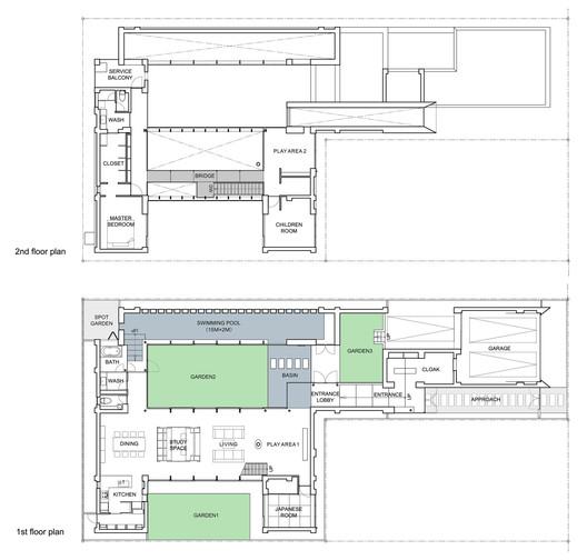 First & Second Floor Plan 01