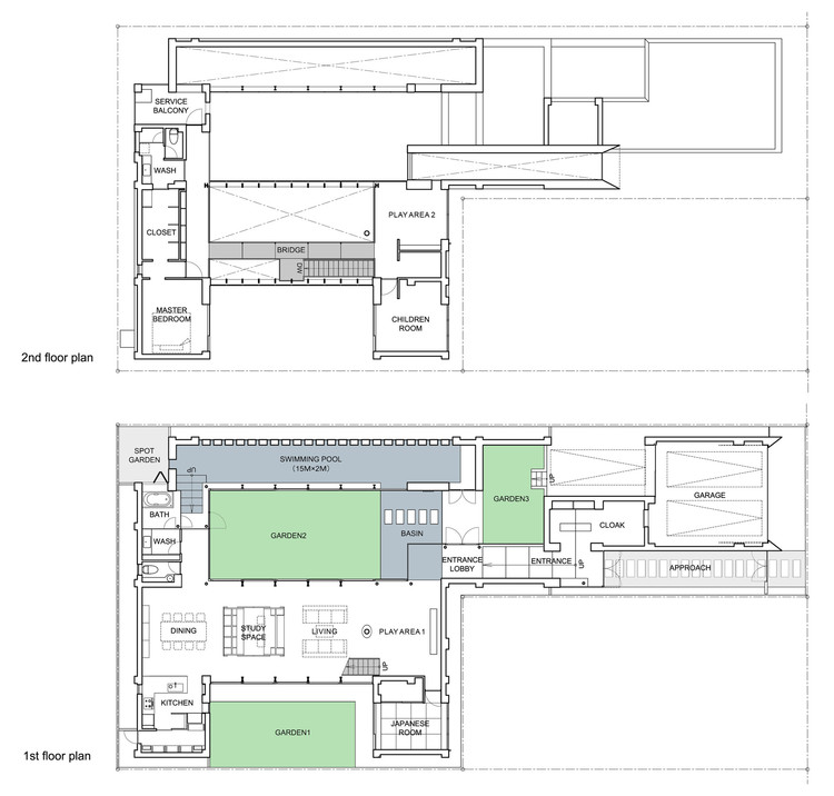 First & Second Floor Plan 01