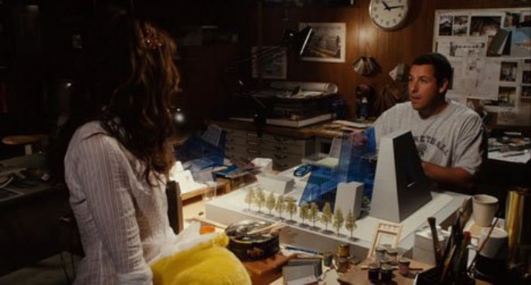 Fictional architects in movies archdaily for Model house movie