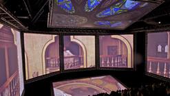 Kanye West's seven-screen pavilion / OMA