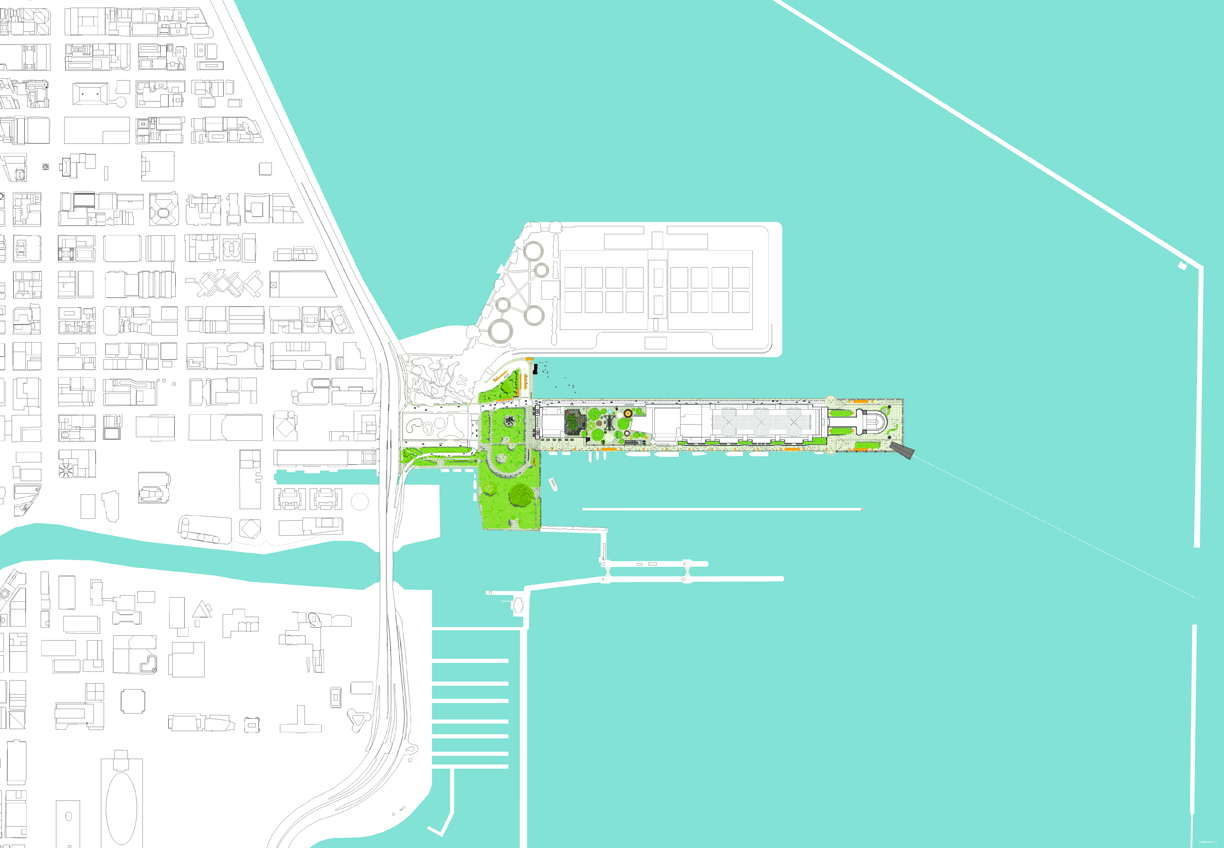 Chicago Navy Pier  Team X Led By Xavier Vendrell Studio ArchDaily - Chicago map navy pier