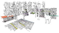 Jardin de la Connaissance / 100Landschaftsarchitektur
