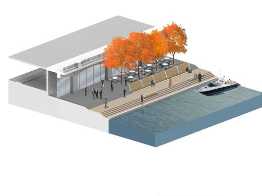 Courtesy of Sasaki Associates + Ross Barney Architects