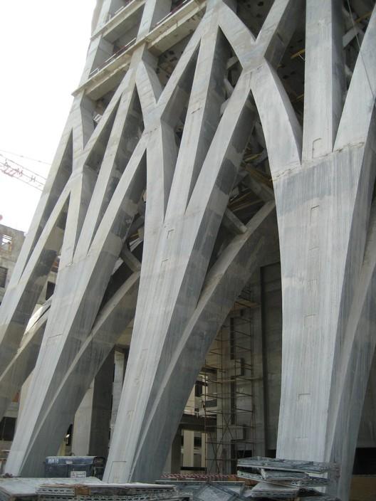 Lobby Construction © SOM
