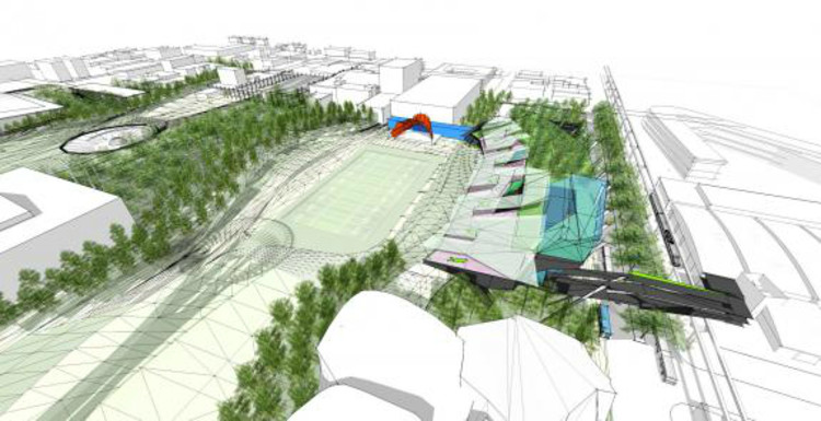 PARK / Koning Eizenberg Architecture + ARUP via Urban Interventions Design Competition