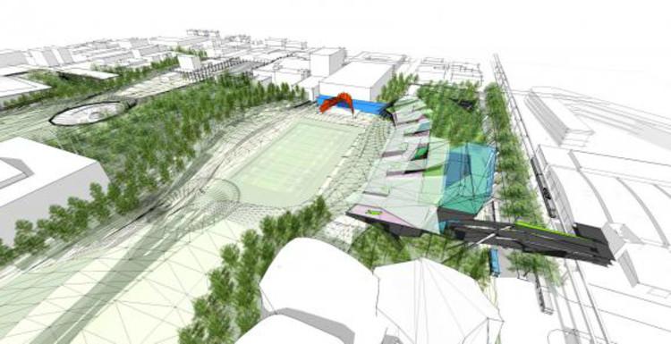PARK / Koning Eizenberg Architecture + ARUP via Urban Interventions Design Competition