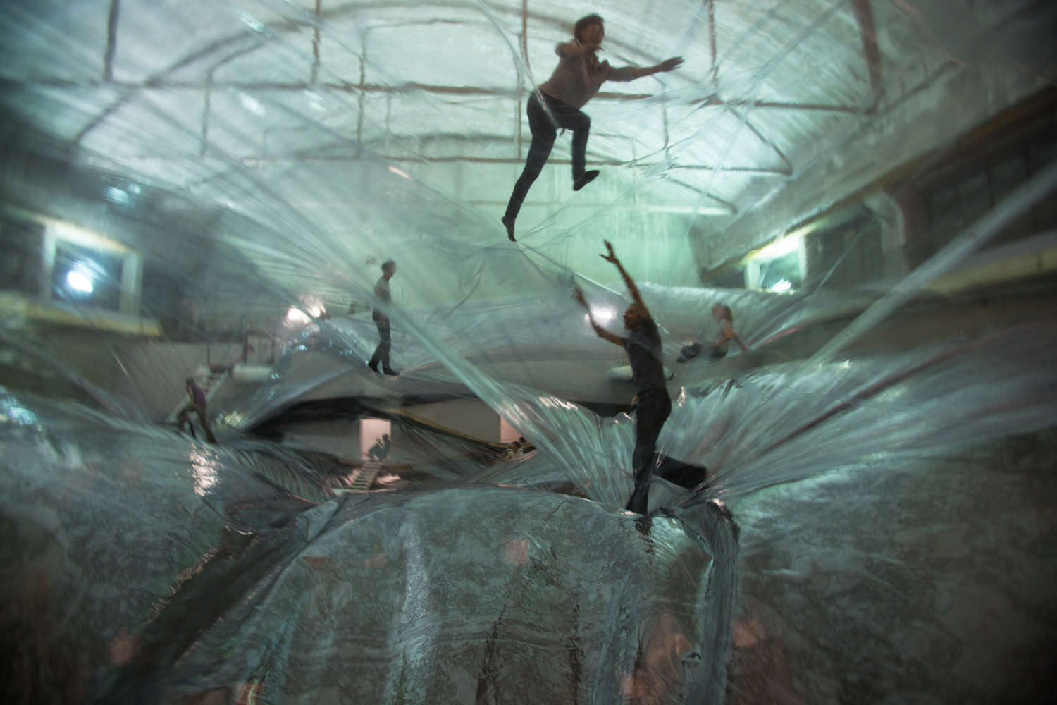Tomas Saraceno, On Space Time Foam' Exhibition, 2012