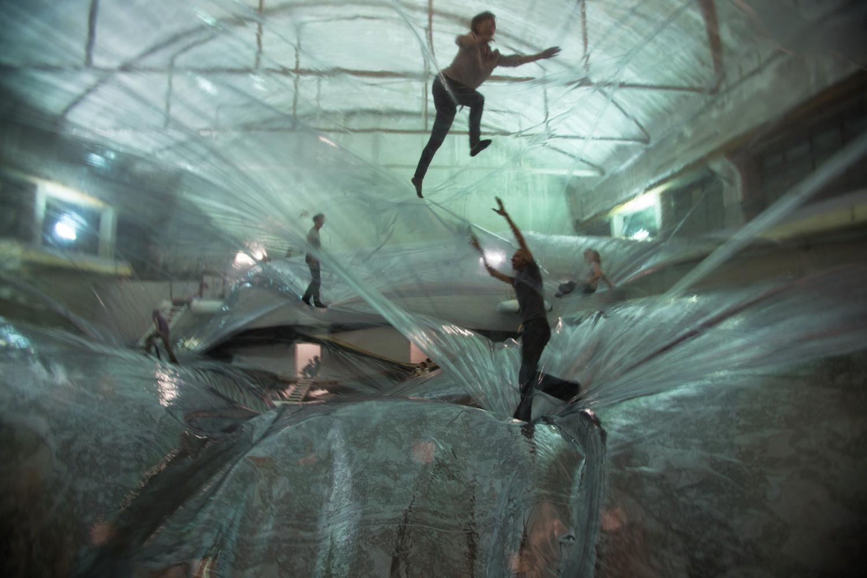 Tomas Saraceno, On Space Time Foam' Exhibition, 2012