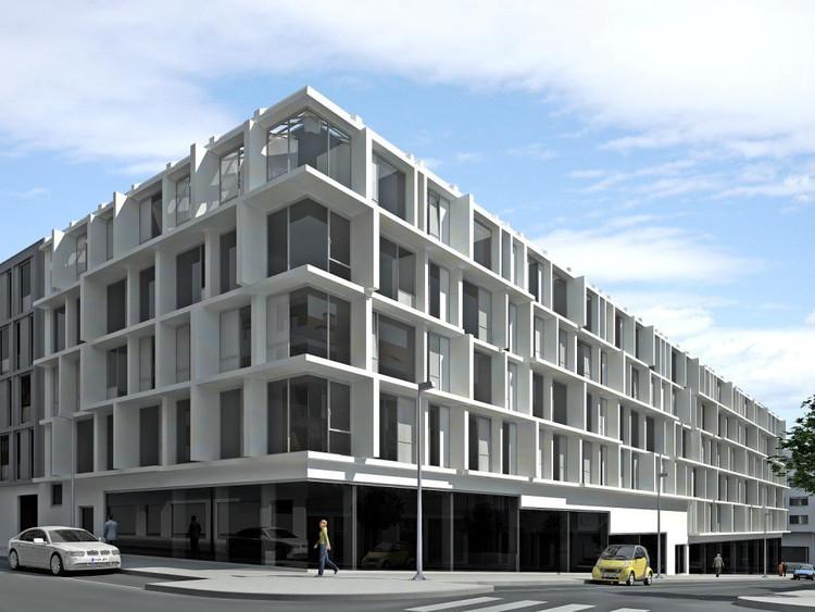Arial m6 carbajo barrios arquitectos archdaily - Arquitectos santiago de compostela ...