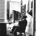 Teabreak #1 at the Guggenheim Pavilion, 1953, New York City © Pedro E. Guerrero, Courtesy Edward Cella Art+Architecture